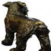 Welsh Terrier Bronze Sculpture