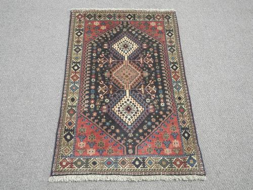 Semi Antique Persian Yalameh 2.7x3.11
