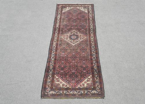 Semi Antique Persian Hosseinabad 10.4x3.2