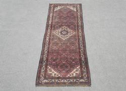Semi Antique Persian Hosseinabad 10.4x3.2