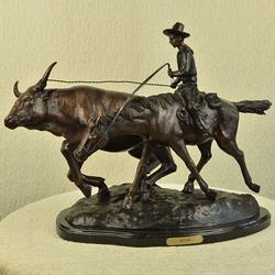 Bolter Bronze Statue Sculpture