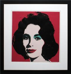 ANDY WARHOL SIGNED LITHOGRAPH
