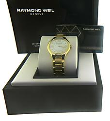 Raymond Weil Noemia Mother of Pearl Diamond Watch