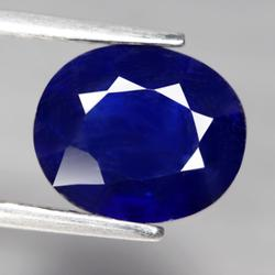 Top ink blue 3.81ct Sapphire