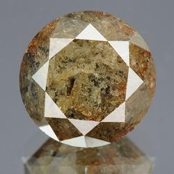 Very unique 5.75ct untreated calico color Diamond