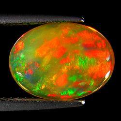 Superb 2.41ct fully organic Welo Opal