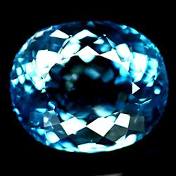 Simply brilliant 36.25ct Topaz with dazzling flashing