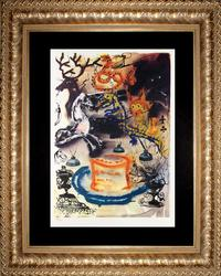 SALVADOR DALI WHO STOLE THE TARTS 1969