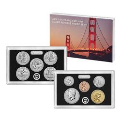 2018 US Proof Set Silver Reverse Proof