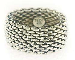 Tiffany & Co Mesh Sommerset Ring