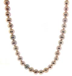 Classic Pink Pearl Necklace