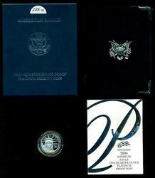 Special 2006-W Ultra Cameo Superb PRF $25 Platinum coin