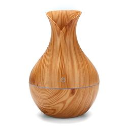 USB Electric Wood Grain Ultrasonic Cool Mist Humidifier