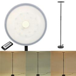 LED Floor Lamp Dimmable Iron Stand Reading Book Light