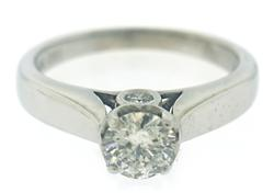 Nice Diamond Solitaire Ring