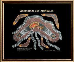 Lewis Burns Genuine Aboriginal Art, Australia 1995