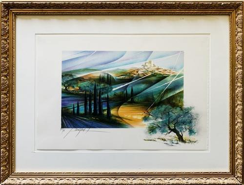 Raymond Poulet  Limited Edition Color Lithograph