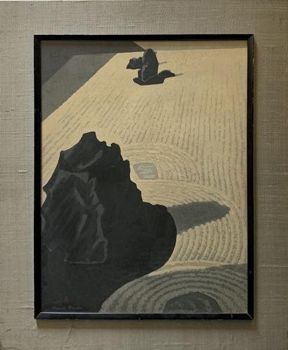 Beautiful Masao Maeda (1904-1974) Woodblock