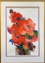 Beautiful Original Bouquet Watercolor