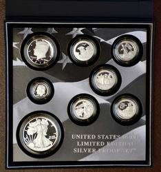 2016 Limited Edition Silver Proof Set, OGP