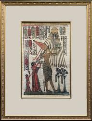 Beautiful Framed Egyptian Mixed Media