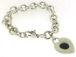 Tiffany & Co Heart Tag Charm Bracelet