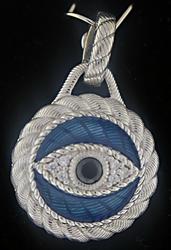 Judith Ripka Evil Eye Enamel Enhancer Pendant
