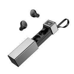 Wireless Digital Display Earphone Noise Cancelling Mic