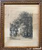 Alfred Louis (French) 19th Century Vintage Engraving