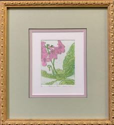 Botanical Limited Edition 53/250 Color Engraving