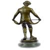 Taking a Bow Bronze Sculpture