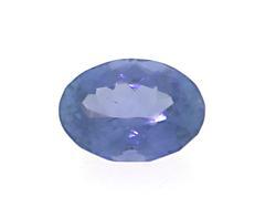 0.58ct Oval Tanzanite Loose Stone