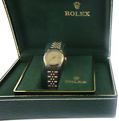 Rolex Datejust Watch Jubilee Bracelet w Champagne Dial