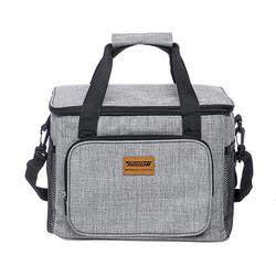 15L Outdoor Portable Lunch Bag Thermal Insulated