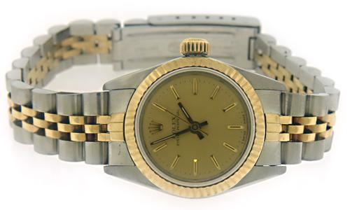 Rolex Oyster Perpetual 24mm Fluted Watch