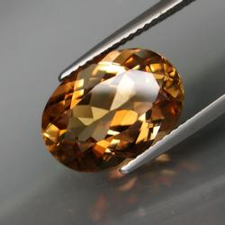 Enchanting 7.16ct golden Imperial Topaz