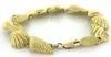 Beautiful Seashell Gold Bracelet