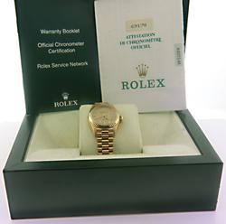 Rolex Presidential Champagne Dial Watch