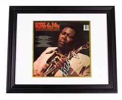B.B. King Autographed Together Again LP Album PSA/DNA