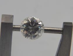 0.69cts Round Diamond Solitaire