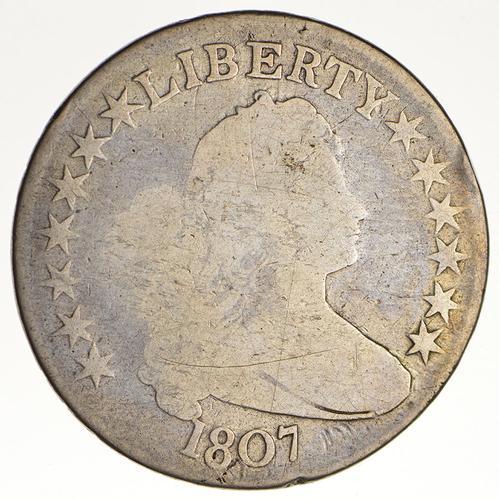 1807 Draped Bust Half Dollar - Circulated