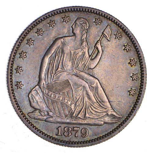 1879 Seated Liberty Half Dollar - Choice