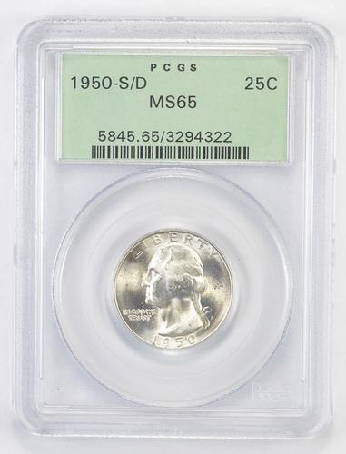 MS65 1950-S/D Error Washington Quarter - OGH - PCGS Upgrade?