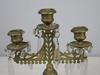Antique Brass Candelabra