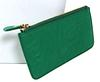 Ferragamo Green Leather Pouch