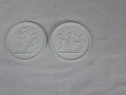 Pair of Collectible Ceramic Wall Plaque