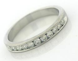 Classic Channel Set Diamond Ring