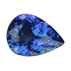 AAA grade 4.13ct top blue violet Tanzanite