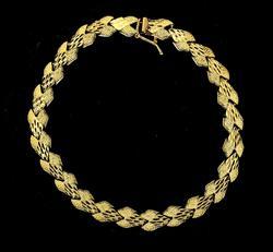 Fancy 14KT Gold Bracelet