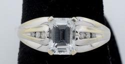 Aquamarine Gemstone Ring in Gold